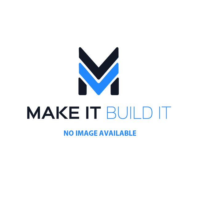 TRAXXAS Tires & wheels: SCT sat.chrome/red b'lock w/SCT off-road(2) (TRX5973A)